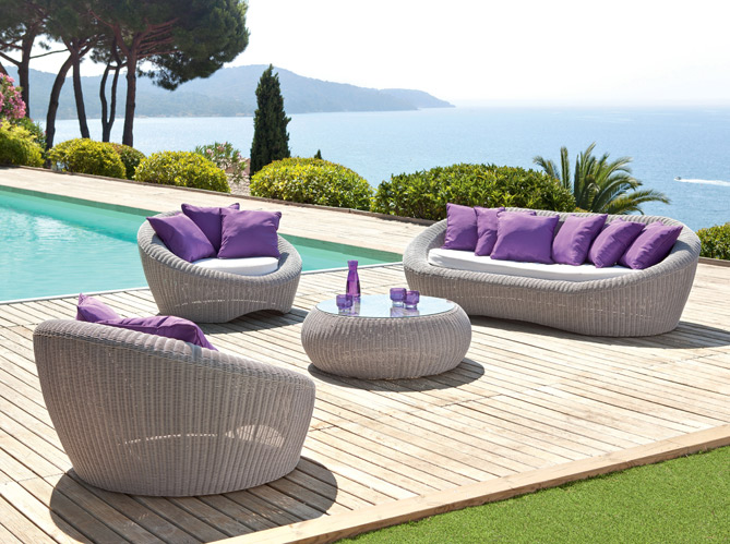 le jardin fait salon elle d coration. Black Bedroom Furniture Sets. Home Design Ideas