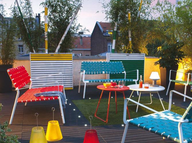 Meubles de jardin craquez pour notre s lection color e for Decoration jardin colore