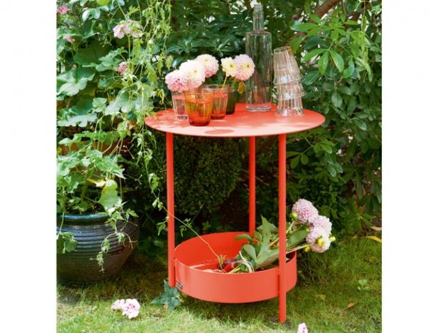 Meubles de jardin craquez pour notre s lection color e elle d coration - Deco jardin colore le mans ...
