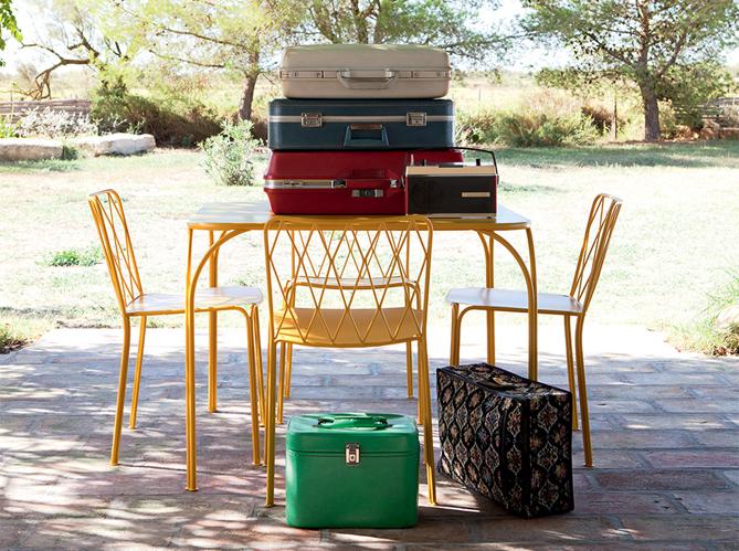 Mobilier de jardin notre shopping estival elle d coration - Fermob castorama ...