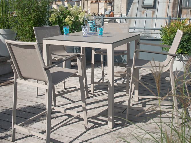 Truffaut la collection jardin 2016 elle d coration - Table haute pour terrasse ...
