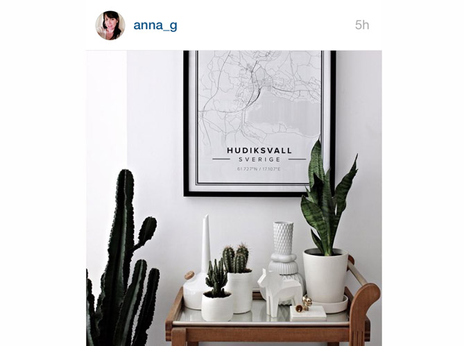 Les instagram de la semaine des int rieurs fleuris for Decoration maison instagram