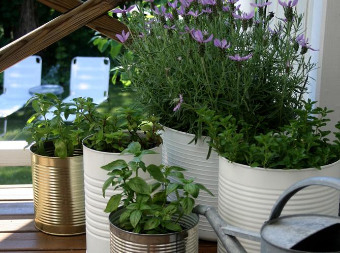 idées de jardin pour mini balcon - Elle Décoration