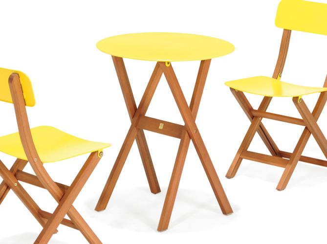 Choisissez votre table de jardin elle d coration for Petite table de jardin metallique