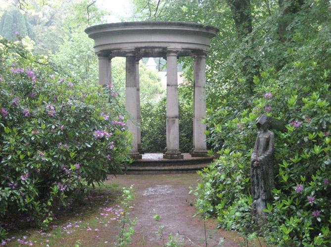 Visite d un jardin anglais dans la campagne britannique for Jardin anglais geneve suisse
