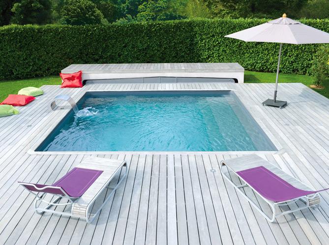 Une piscine pour tous les styles elle d coration for Jardin pour tous