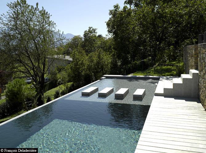 Une piscine pour tous les styles elle d coration for Bassin design