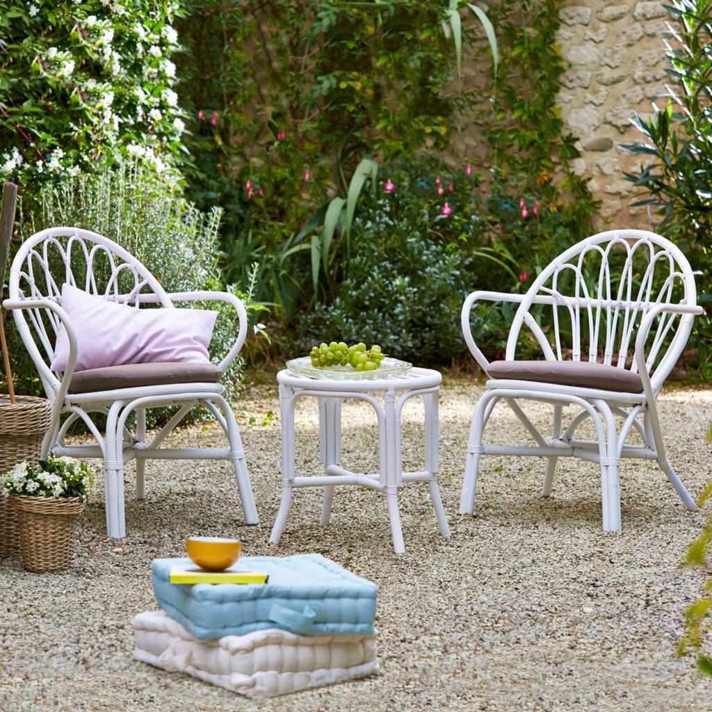 Un salon pour mon jardin ! - Elle Décoration