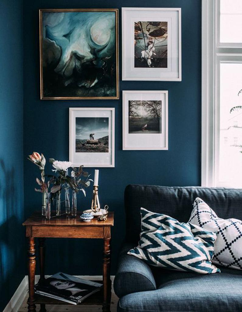 d coration murale 30 id es d co pour mettre en valeurs. Black Bedroom Furniture Sets. Home Design Ideas