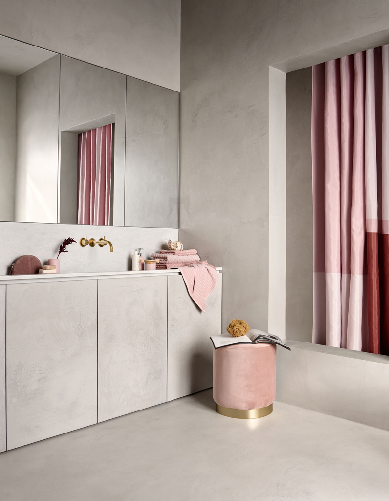 Awesome Salle De Bain Rose Pale Contemporary - Awesome Interior Home ...