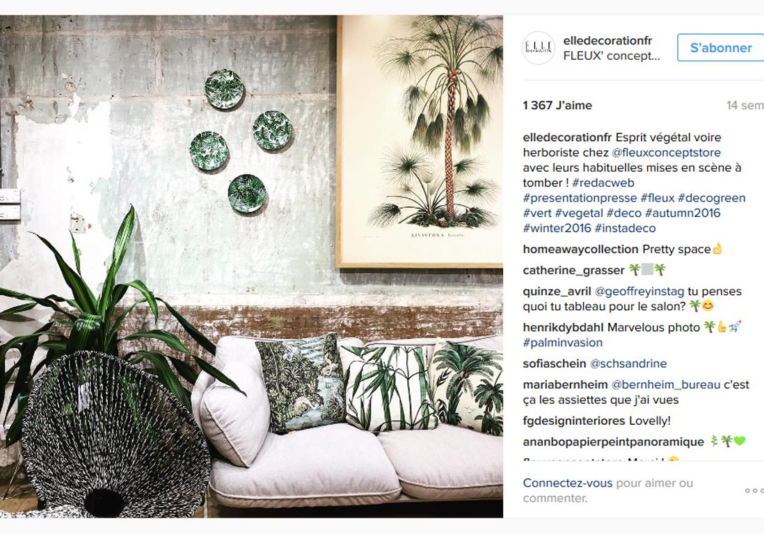 les meilleures photos elle d co sur instagram elle. Black Bedroom Furniture Sets. Home Design Ideas
