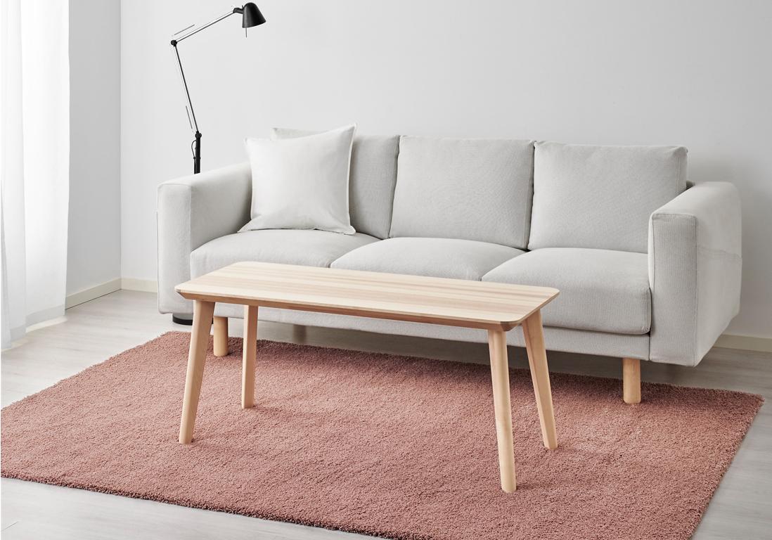 ikea tapis poils hauts heavenly tapis jaune ikea id es salon est comme birket poils hauts gris. Black Bedroom Furniture Sets. Home Design Ideas