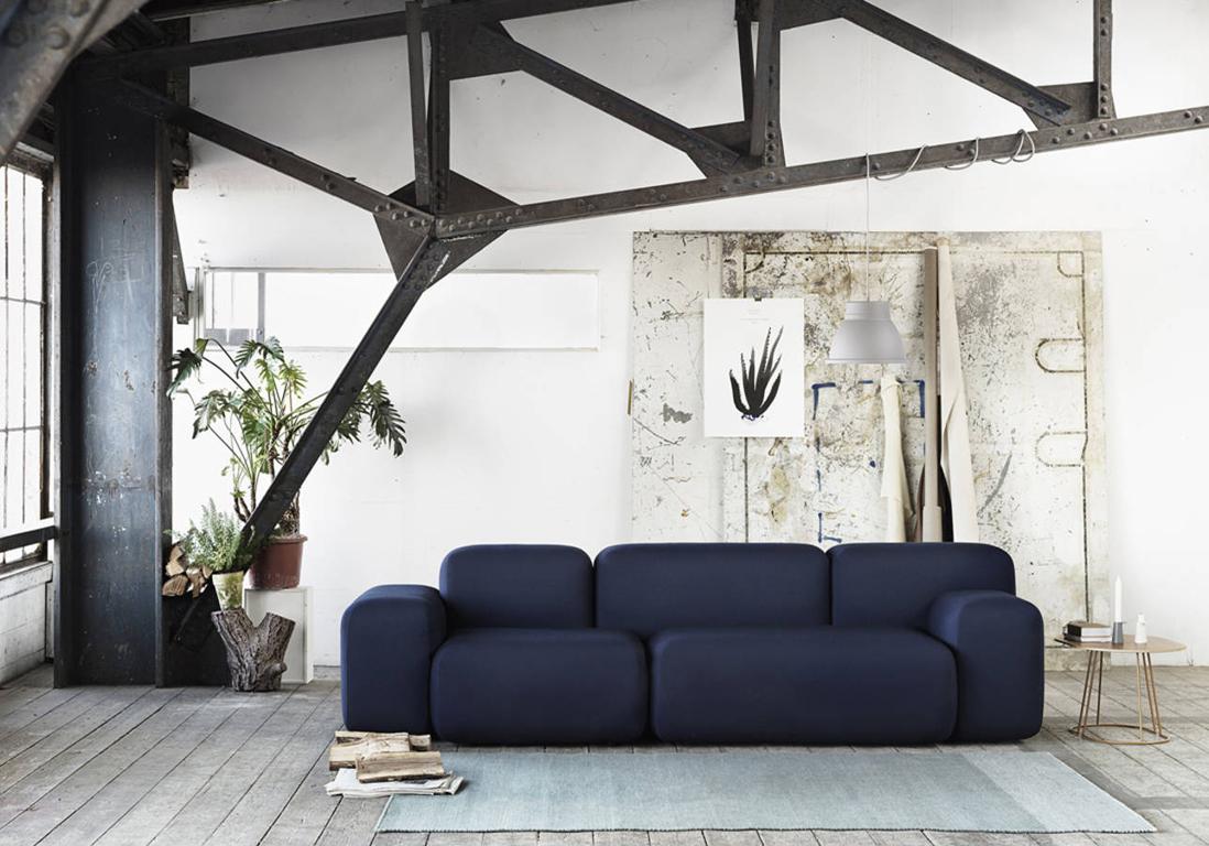Decoration Salon Bleu Marine | Mobilier & Décoration