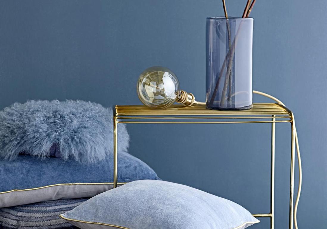Le bleu, roi de nos intérieurs   elle décoration