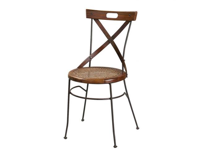 50 chaises pour tous les styles elle d coration for Chaise fer forge maison du monde
