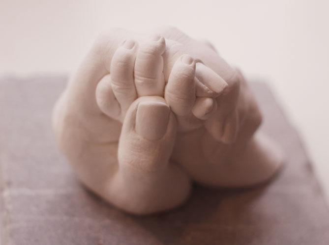 empreinte ventre enceinte