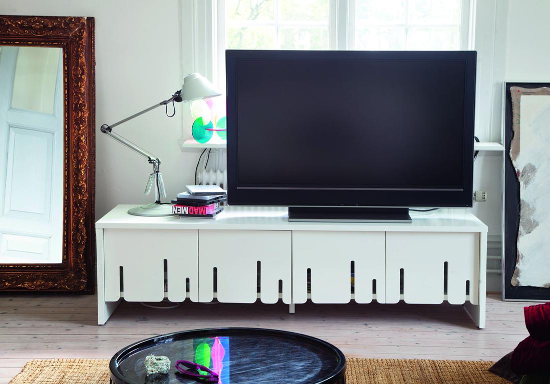 Idees Decoration Cuisine Moderne # Ikea Meuble Tv Wenge