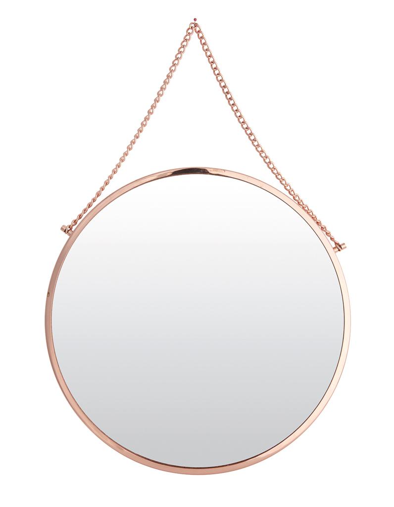 Le retour du cuivre dans la d co elle d coration for Miroir rond alinea