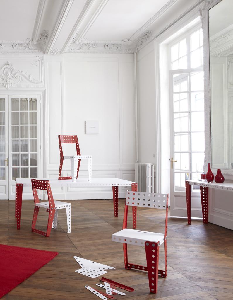 meccano du jeu au mobilier en kit elle d coration. Black Bedroom Furniture Sets. Home Design Ideas