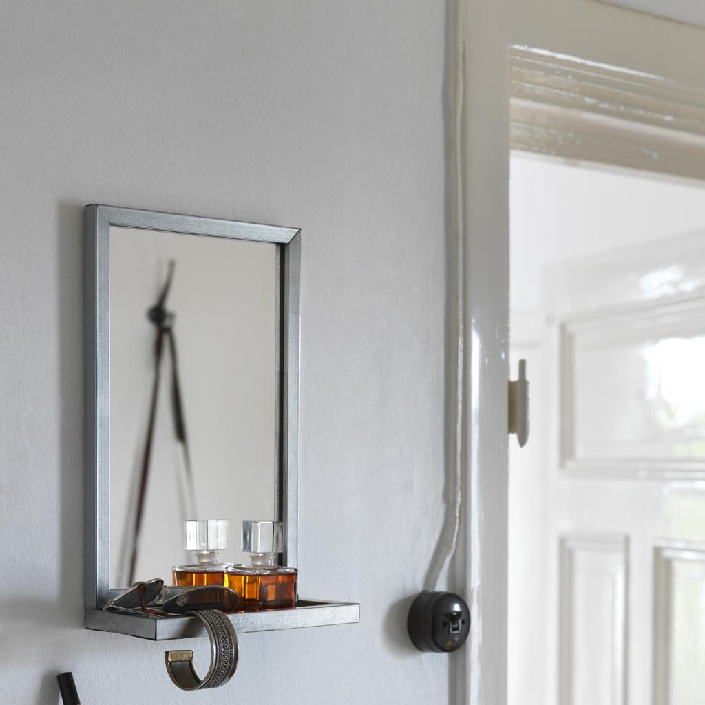 Miroir avec tablette ikea clairage de la cuisine for Miroir avec eclairage