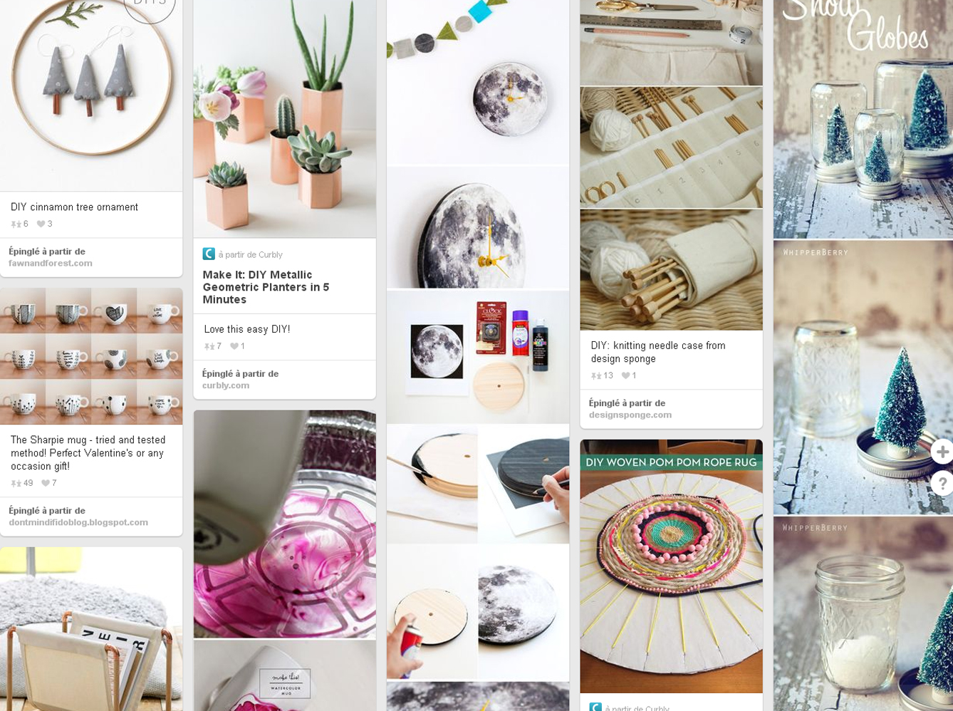 Diy les comptes pinterest conna tre absolument elle d coration for Pinterest deco maison