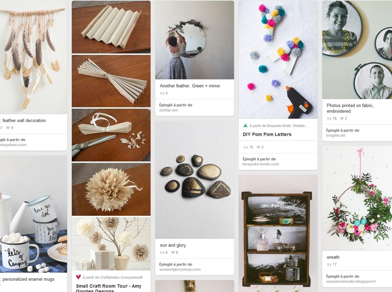 diy les comptes pinterest conna tre absolument elle d coration. Black Bedroom Furniture Sets. Home Design Ideas