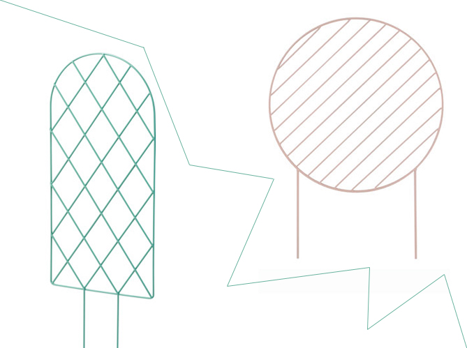 1 Objet 2 Budgets Le Tuteur Design Ferm Living Versus Celui De Ikea Elle D Coration