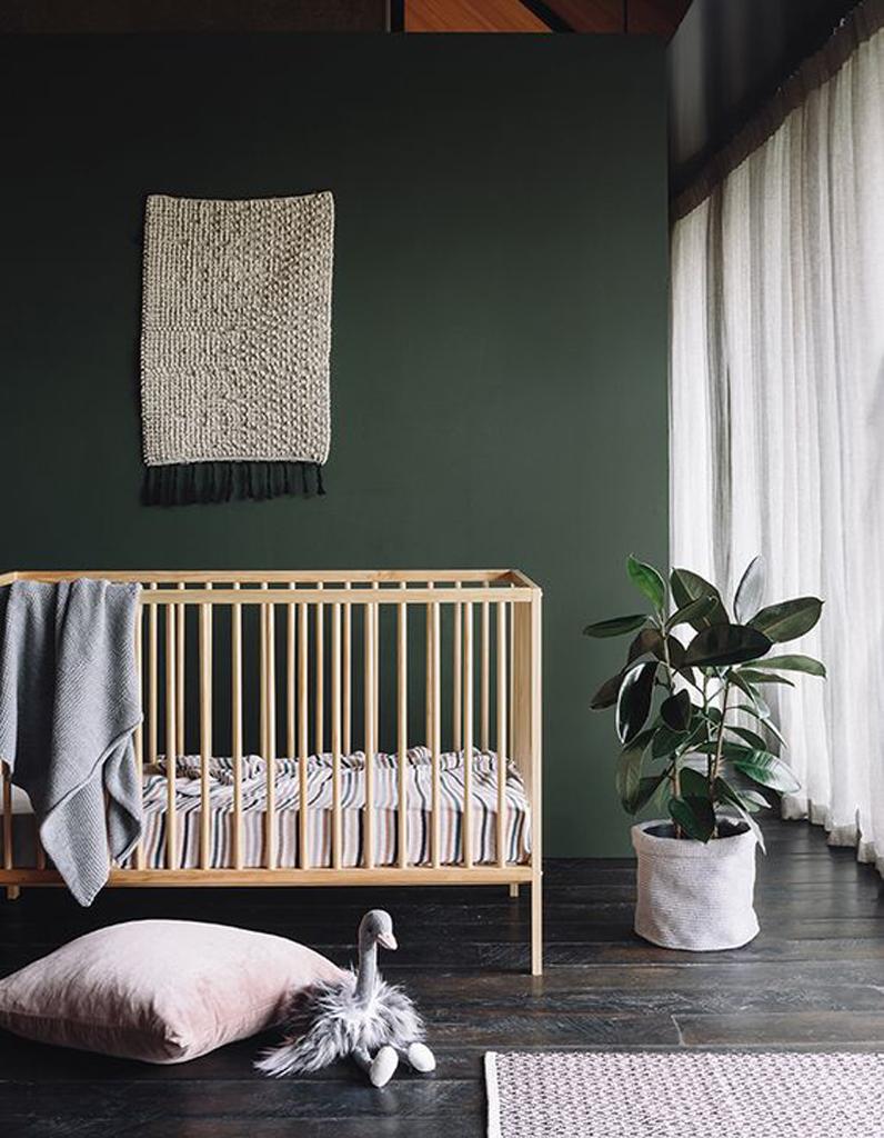 Chambre Fille Kaki : Chambre de bébé idées pour une fille elle décoration