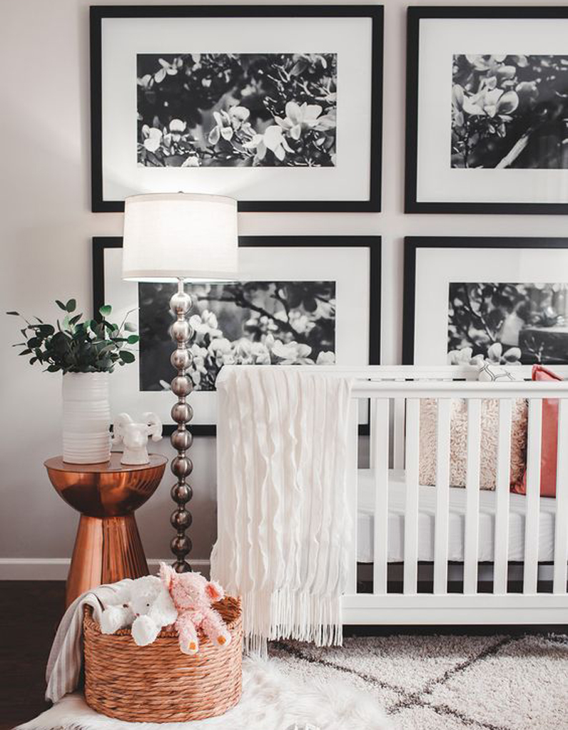 Chambre de bébé : 25 idées pour une fille - Elle Décoration