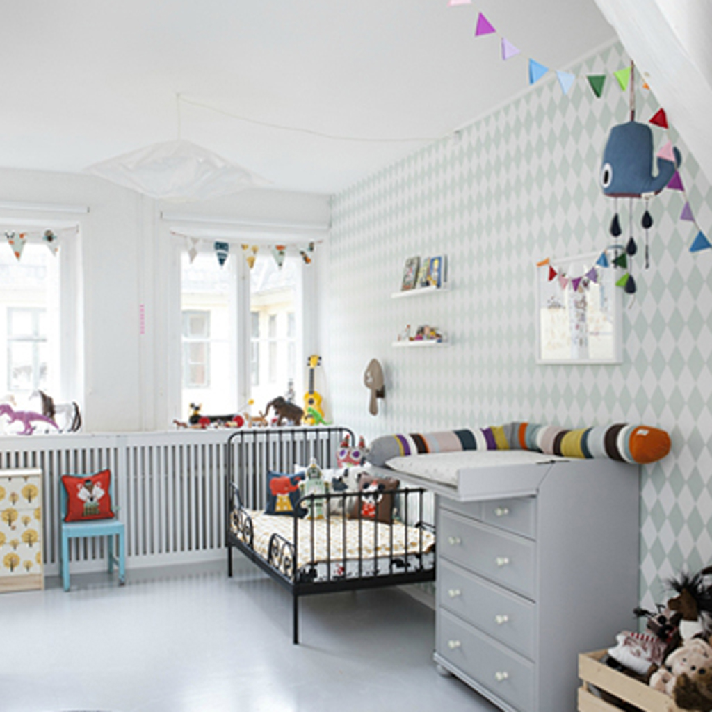 Chambre scandinave pastel ~ Design de maison