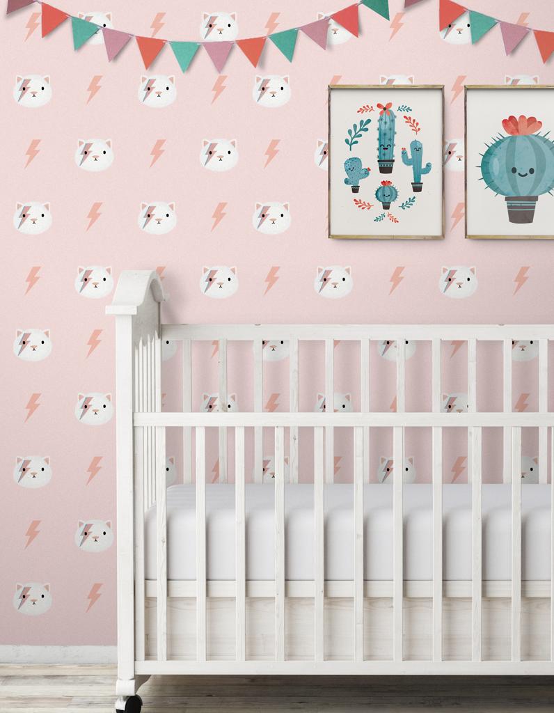 Papier peint chambre petite fille - Papier peint chevaux pour chambre ...