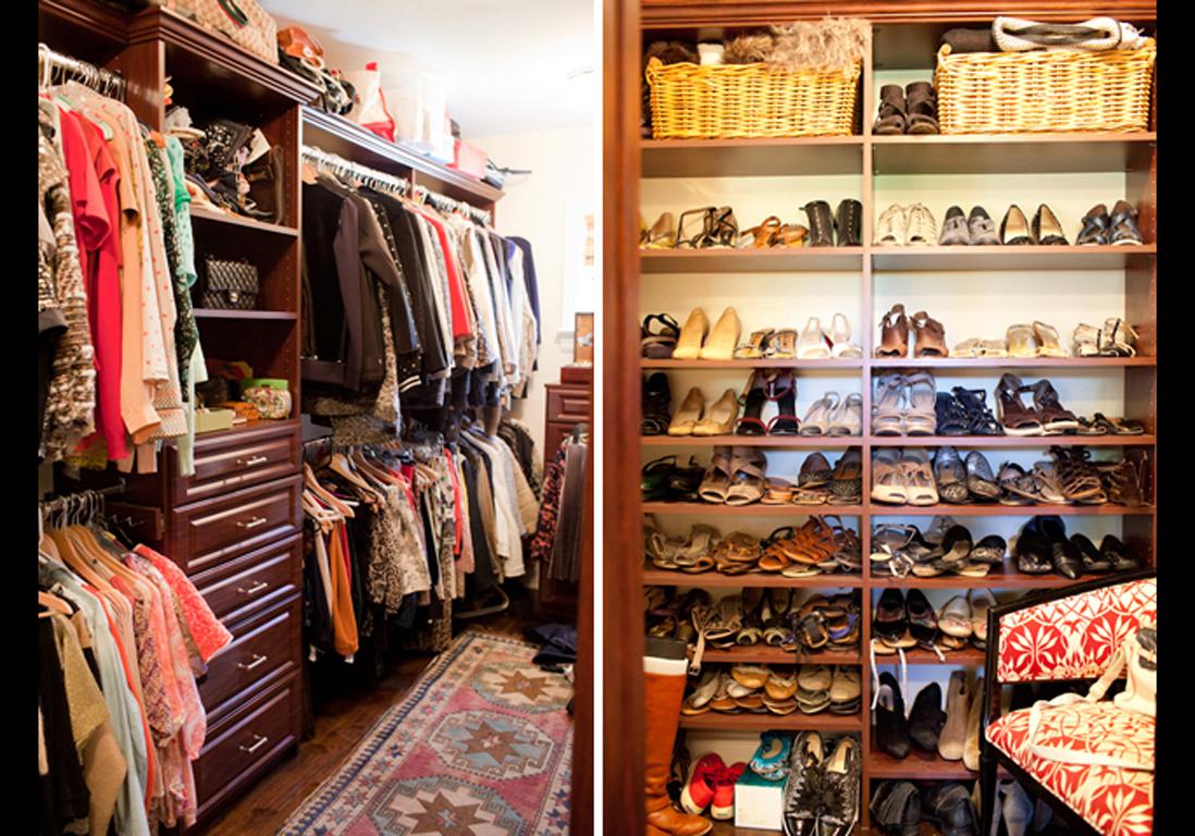 10 id es pour r habiller son dressing elle d coration. Black Bedroom Furniture Sets. Home Design Ideas