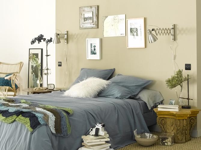 Une chambre cosy pour l 39 automne elle d coration for Ambiance chambre parentale