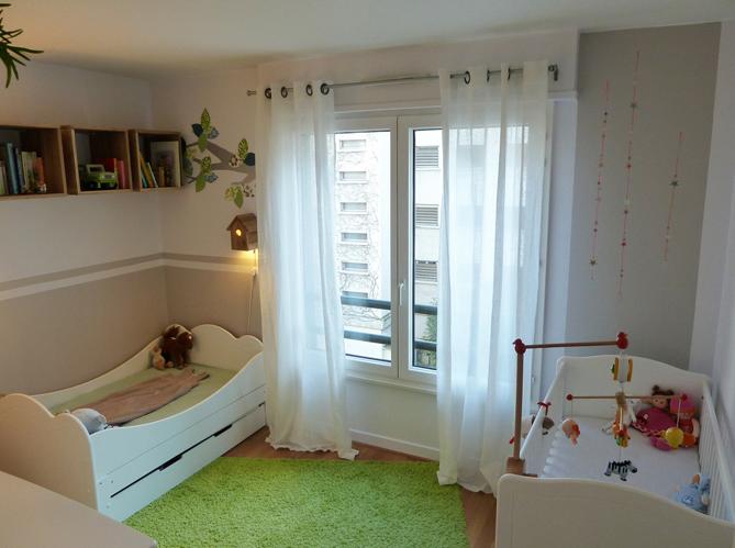 Am nager une chambre pour 2 enfants elle d coration - Amenager chambre 8m2 ...