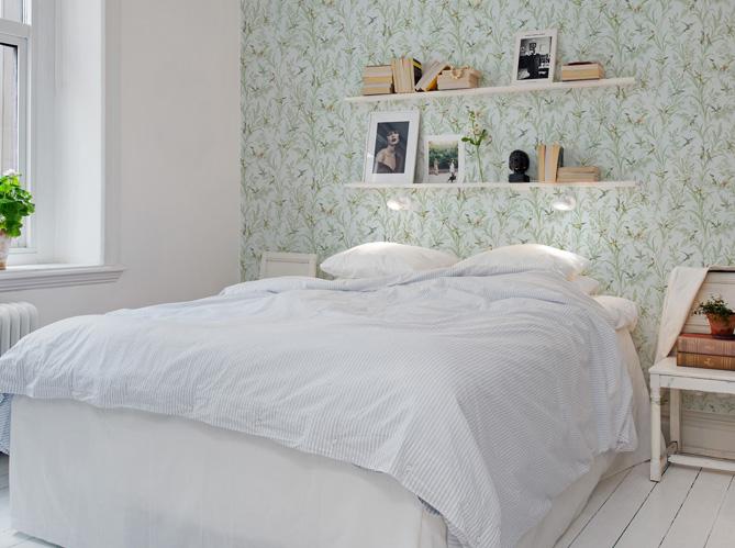 d corez le mur au dessus de votre lit elle d coration. Black Bedroom Furniture Sets. Home Design Ideas