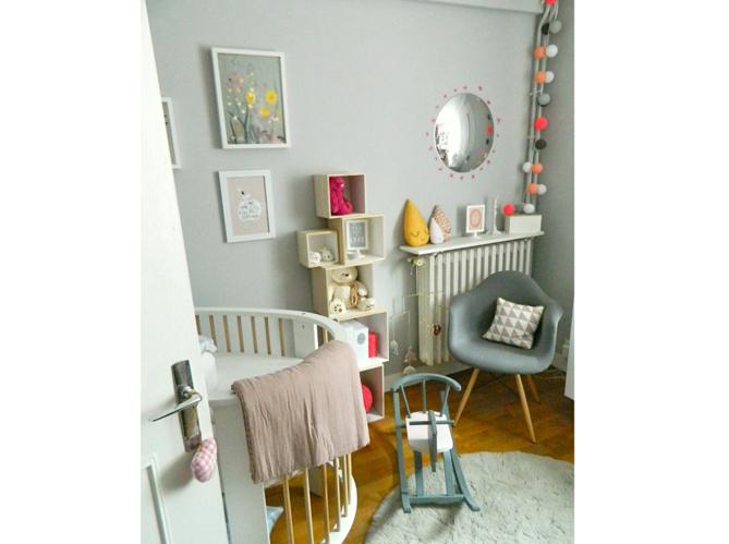 Les plus jolies chambres d 39 enfants de la rentr e elle for Modele de deco pour chambre