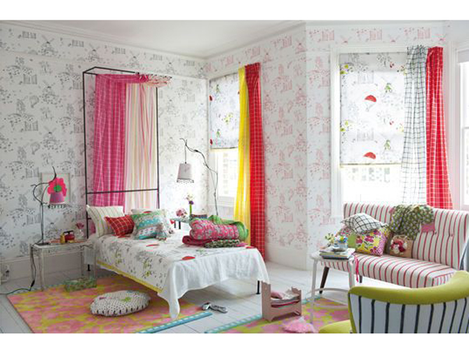 Decoration chambre fille designers guild