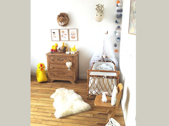 Les plus jolies chambres d 39 enfants de la rentr e elle d coration - Idee deco chambre d enfant ...