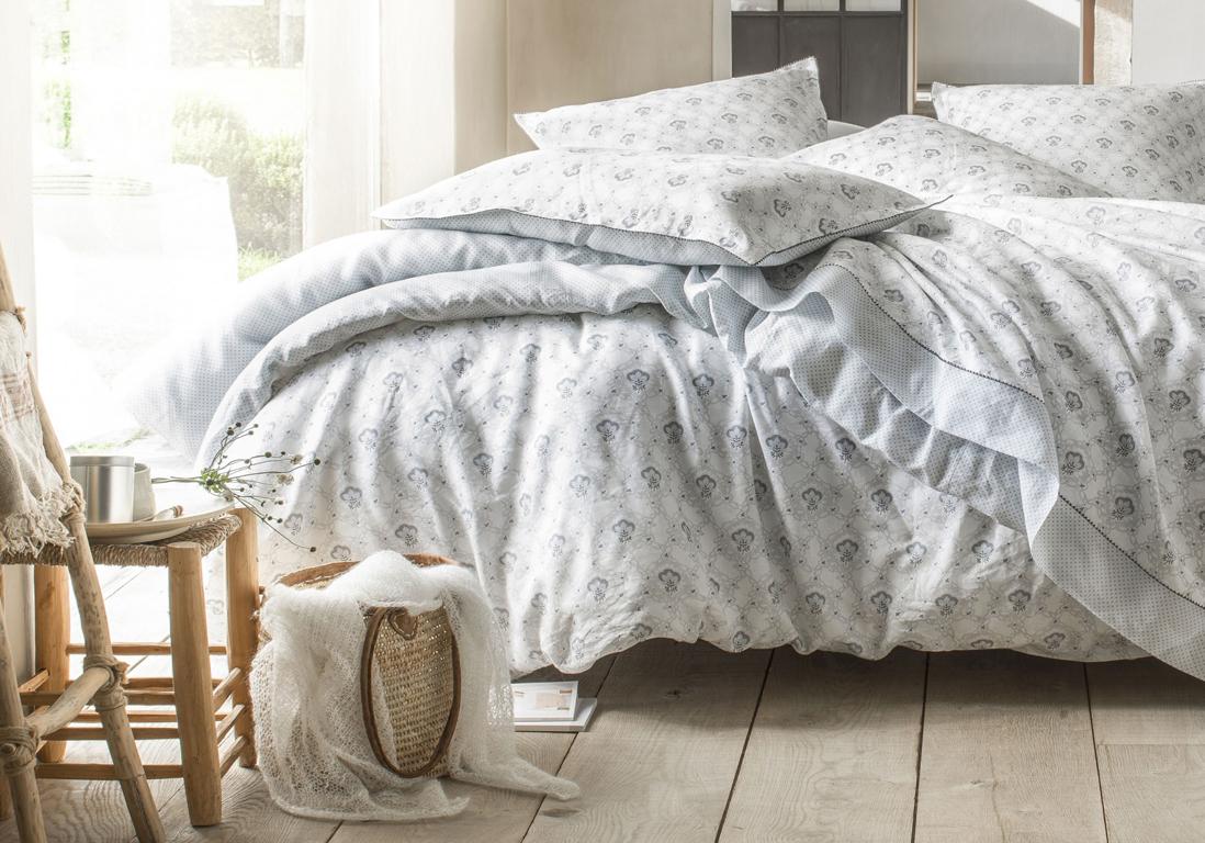 Linge de lit on ne se lassera jamais du lin elle - Housse de couette en lin ikea ...