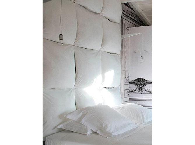 t te de lit 25 id es pour une t te de lit originale. Black Bedroom Furniture Sets. Home Design Ideas