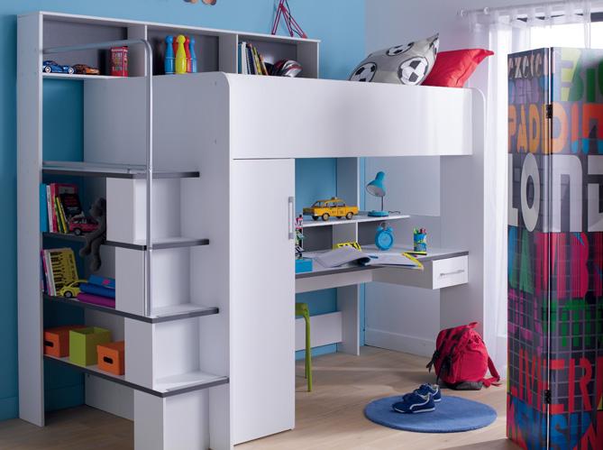 3 fa ons d am nager un espace bureau dans la chambre. Black Bedroom Furniture Sets. Home Design Ideas