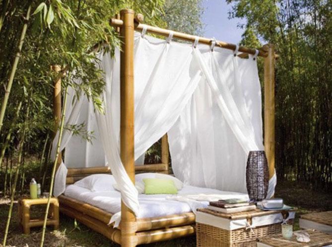 Des ciels de lit et lits baldaquin pour r ver elle d coration - Lit bambou baldaquin ...
