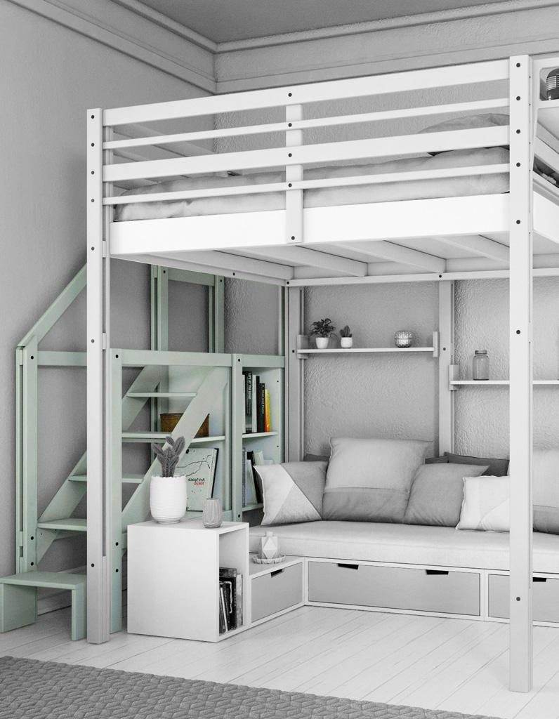 lit avec rangement notre s lection de mod les pour la. Black Bedroom Furniture Sets. Home Design Ideas