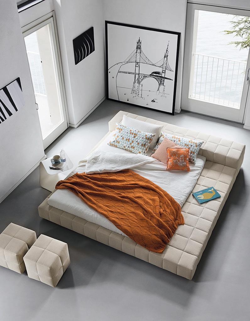 Lit design 20 lits design pour une chambre moderne for Objet de deco chambre