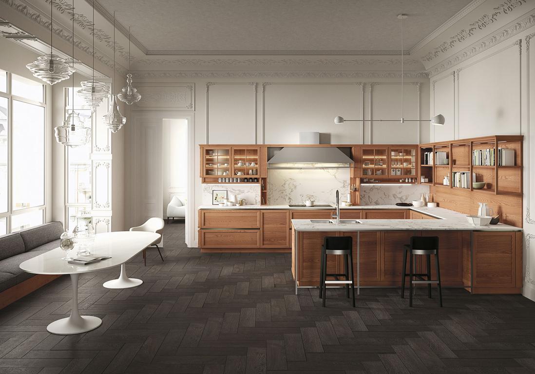 30 cuisines qui nous font r ver elle d coration. Black Bedroom Furniture Sets. Home Design Ideas