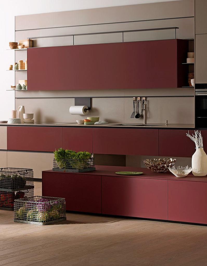 Objet deco cuisine rouge stunning objet deco cuisine for Objet cuisine deco