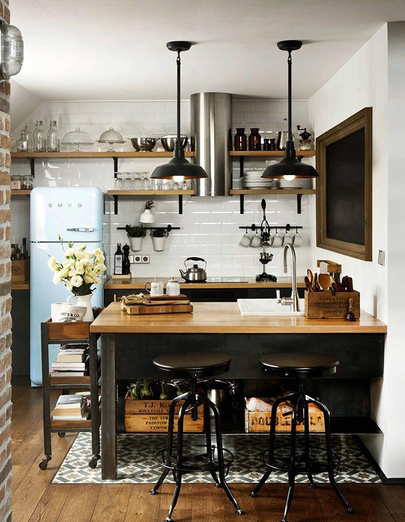 Nos idées pour aménager une belle cuisine vintage - Elle Décoration - Déco Cuisine Vintage