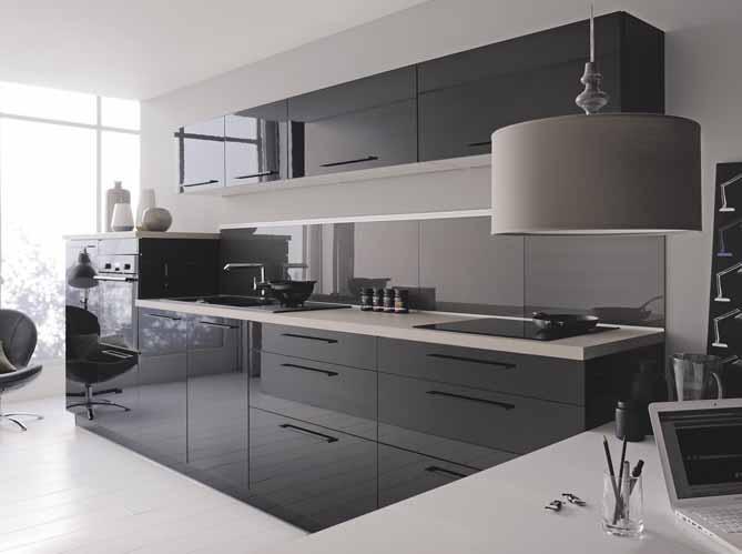 cuisines design nos mod les pr f r s elle d coration. Black Bedroom Furniture Sets. Home Design Ideas