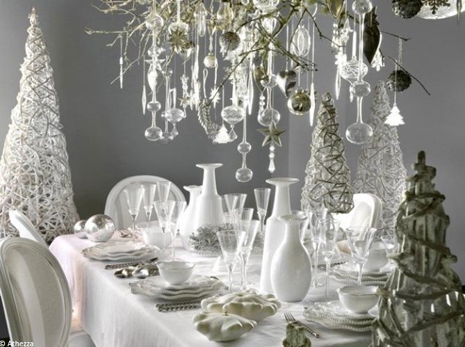 Nos 40 id es d co pour une table de r veillon sur son 31 - Decoration de noel pour table ...