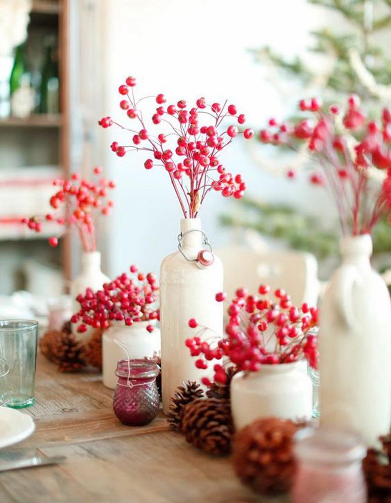 D coration de table d 39 hiver nos meilleures id es de d co for Decoration hiver